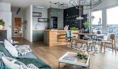Apartament de două camere în stil scandinav