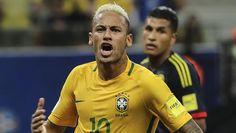 Brasil con asistencia y un gol de Neymar, gana 2-1 a Colombia de James | A Son…