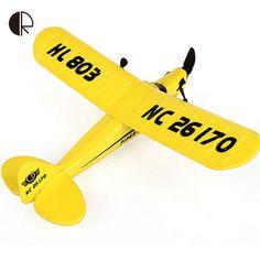 RC Самолет HL-803 Высокое Качество EPP Пены 2.4 Г Пульт Дистанционного Управления 2CH RC Самолет 150 м Дистанционного управления Планера самолета Груза падения HT834