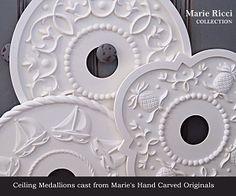 Marie Ricci Ceiling Medallions