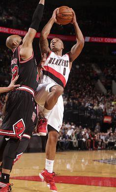 Sensational rookie Damian Lillard #Portland #Trailblazers #NBA