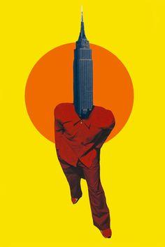 "Saatchi Art Artist Silvio Severino; Collage, ""Urban Life "" #art"