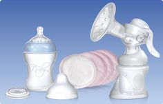 Breastfeeding, Breast Care, Comfort™ Breast Pump. At Nûby™ we recognise that expressing can be difficult and sometimes uncomfortable. That's why we have taken the most traditional and most proven method for expressing and made it even better! The Comfort Breast Pump Set integrates new technologies with proven design principles to bring you a more efficient and more comfortable experience. Not only that - but it looks great too.