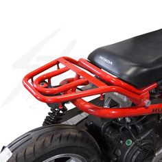 Ruck Rack Luggage Rack for Honda Ruckus - Lowered Seat Frame Honda Scrambler, Cafe Racer Motorcycle, Honda Ruckus Accessories, Honda Ruckus Parts, Motorbike Design, Vintage Cafe Racer, Cafe Racer Style, Scooter Motorcycle, Classic Car Insurance
