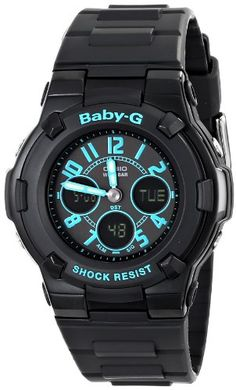 Casio Women's Baby-G Analog-Digital Display Quartz Black Watch Quality Watches on SALE ! Stylish Watches, Cool Watches, Watches For Men, Nixon Watches, Wrist Watches, G Shock, Athletic Watches, Best Sports Watch, Gadget Watches