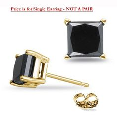 A single round orchid cubic unisex earring stud 22g US SELLER