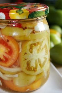 Kimchi, Pickles, Cucumber, Detox, Vegetarian Recipes, Food And Drink, Jar, Canning, Drinks