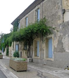 Building in a French Village
