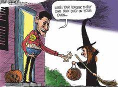 Political Cartoons.