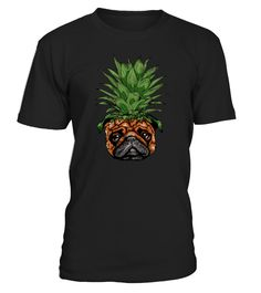 Pineapple pug art  #AssumptionDay #Germany #Oktoberfest #GermanUnityDay #DayofReformation #AllSaintsDay #StStephensDay