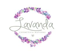Logo for Lavanda Cosmética Natural.