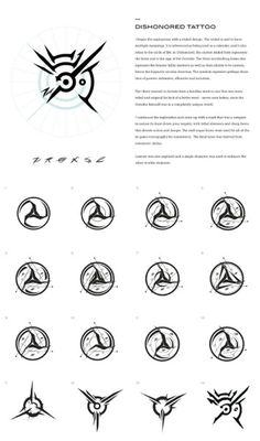 Dishonored Tattoo Co Dishonored Tattoo Concept Art Trendy Tattoos, Cool Tattoos, Tatoos, Dishonored Tattoo, Dishonored Symbol, Dishonored Emily, Tattoo Drawings, Body Art Tattoos, Karten Tattoos