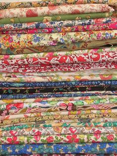 Liberty of London fabrics. Michael Levine. limited resource. overwhelming.