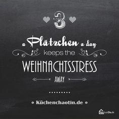 A Plätchen a day keeps the Weihnachtsstress away