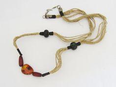 Vintage Tibetan Natural Baltic Amber Bead by wandajewelry2013