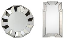 Art deco statement mirrors inspired by The Great Gatsby