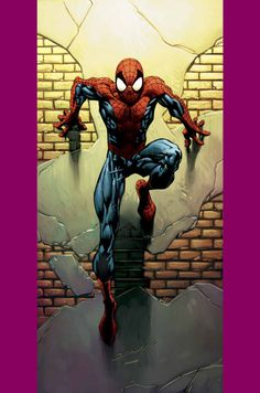 Comic Book Art - Spiderman