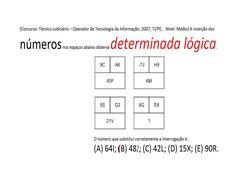Curso de Raciocínio Lógico Sequência de letras e números Teste Psicotécn... https://youtu.be/JljVDZo4X7I