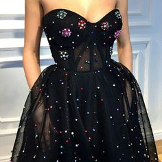 Black Sweetheart Beaded Prom Dresses,Tulle Sleeveless Evening Gown, Shop plus-sized prom dresses for curvy figures and plus-size party dresses. Ball gowns for prom in plus sizes and short plus-sized prom dresses for Beaded Prom Dress, Tulle Dress, Strapless Dress Formal, Dress Up, Fancy Dress, Dresses Elegant, Pretty Dresses, Formal Dresses, Awesome Dresses