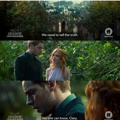 Clary and Jace #Clace. Shadowhunters season 3 trailer