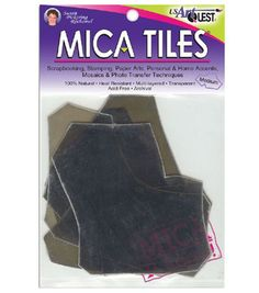 UA Artquest 5''x6'' 1 oz. Mica Tile Embellishments