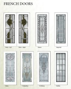 French Double Door Sizes