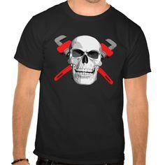 Plumber Skull T Shirt, Hoodie Sweatshirt