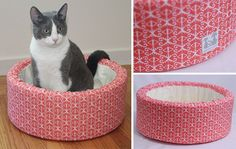 Self-warming Cat Beds from Spenser Pets  January 28, 2013 by hauspanther 7 Comments    These modern cat beds from Etsy sellerSpenser