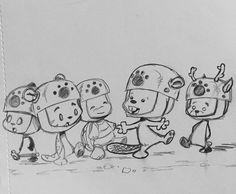 First look at the Power Paws Scout Troop(part of the PandaOki storyline)!! #adventures #ComicGate #kids #family #childrensbooks #pandaoki #art #books #anime #fun #love #read #bookclub #authors #readers #unplug #pandas #IndieAuthor #libraries #panda #sketching #drawing #pizza #pizzastudio @pizzastudio #starvingartist  #boyscouts #boys