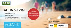 1GB BASE All-in mit EU-Reiseflat ab 27€ + TOP Smartphones ab 1€ http://www.simdealz.de/o2/base-all-in-mit-top-smartphones-ab-1-eur/