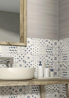 rinnovare il bagno con le cementine di design