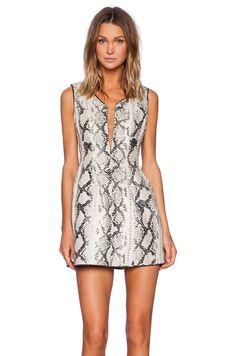 ELLIATT Digital Dress in Monochrome | REVOLVE
