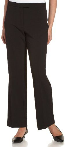 Sag Harbor Womens Plus Slimming Panel Pant Black 18W ** Be sure to check out this awesome product. (Note:Amazon affiliate link)