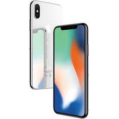 Apple iPhone X Smartphone débloqué (Ecran : pouces - 256 Go - Nano-SIM - iOS) Argent Iphone 10, Apple Iphone 5, Smartphone Apple, Smartphone Case, Case Iphone 6s, Mobile Smartphone, Used Iphone, Iphone 8 Plus, Samsung Mobile