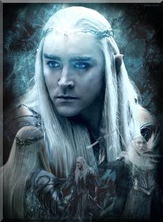 Thranduil is a Sindarin Elf, father of Legolas (of The Lord of the Rings J.R.R. Tolkien & Peter Jackson fame), King of the Silvan Elves of Woodland Realm. Description from deviantart.com. I searched for this on bing.com/images