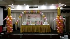 Balloon Art Sydney offers the best Balloon Arches Decorations in Sydney for your events, parties special occasions. Let us beautify your occasion with Balloon arches that go with your theme and make it stand out to your guests. 1st Birthday Balloons, Birthday Balloon Decorations, Balloon Bouquet, Balloon Arch, Birthday Celebration, Birthday Parties, Balloon Arrangements, Arches, Girl Birthday