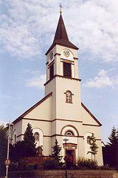 Pfarrkirche Sankt Martin, 1828-35 von Hans Voß