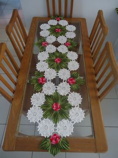 Tree Skirts, Christmas Tree, Holiday Decor, Home Decor, Crochet Table Runner, Crafts, Crochet Jacket, Embroidery, Crop Tops