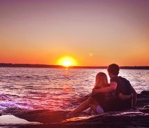 Inspiring picture beach, beautiful, boy, boyfriend, couple, cute.