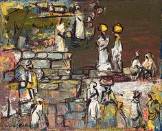 View Women Fetching Water by Walter Whall Battiss on artnet. Browse upcoming and past auction lots by Walter Whall Battiss. Walter Battiss, Past, Auction, African, Water, Artist, Artwork, Painting, Gripe Water