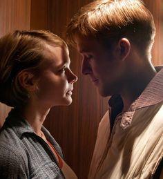 They're electric. Carey Mulligan & Ryan Gosling in 'Drive'.