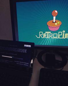 #lategram #latenightfun #work #fun #raspberrypi #raspberrypi2 #retropie #debian #raspbian #retrogaming #nes #snes #atari7800 #linux #desktop #laptop #computer #computerstuff by m0stlyharmless