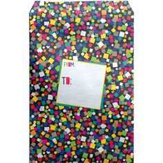 """Large 11"""" x 15.5"""" Printed Birthday Padded Mailing Envelopes, Black Confetti Party Poppers, 30 Gifts, Mailing Envelopes, Fine Paper, Tissue Paper, Confetti, Biodegradable Products, Presents, Gift Wrapping"""