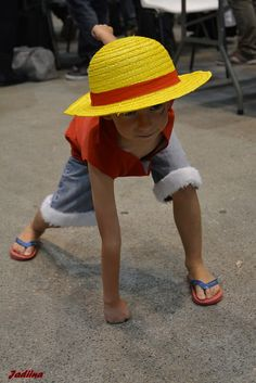 Luffy from One Piece #Cosplay #Kids
