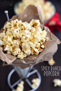 Spicy Ranch Popcorn                                                                                                                                                                                 More
