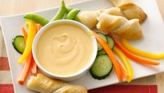 Beer and red pepper sauce dress up prepared cheese for a delightful dip that's ready in 15 minutes.