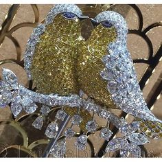 Lovebirds Diamond Brooch By Graff Diamonds.......