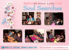 Join Our Regular Classes for Soul Searches  Dr. Lavina Gupta is a famous soul searcher and helps others to find peace and way of living life. She is also providing reiki classes in delhi so that everyone can learn reiki healing.  Call at 09811120586, 09953005749 to make inquiry about reiki training in delhi.  For more info, Visit http://www.reikisadhna.com/