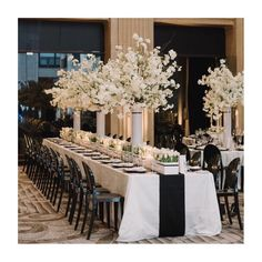 """121 Likes, 3 Comments - Melissa Baum Events (@melissabaum) on Instagram: """"Blossoms and tulips designed in white plexi containers embellished with a black stripe. The same…"""""""