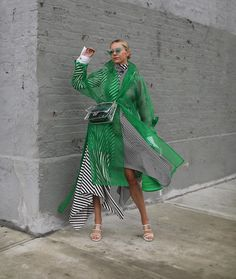 <in the clear // trending translucents & more on Atlantic-Pacific today 💚> Dope Fashion, Fashion Over 50, Fashion Looks, Fashion Trends, Style Fashion, Gossip Girl, Moda Pop, Blair Eadie, Organza